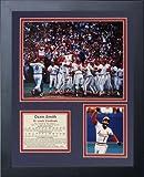 "Legends Never Die ""1985 Ozzie Smith Homerun"" Framed Photo Collage, 11 x 14-Inch"