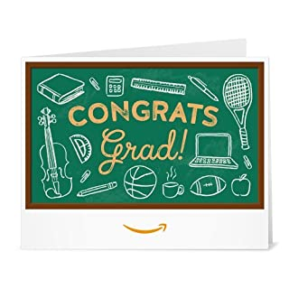 Amazon Gift Card - Print - Graduation Chalkboard (B01DOPQEOS) | Amazon price tracker / tracking, Amazon price history charts, Amazon price watches, Amazon price drop alerts