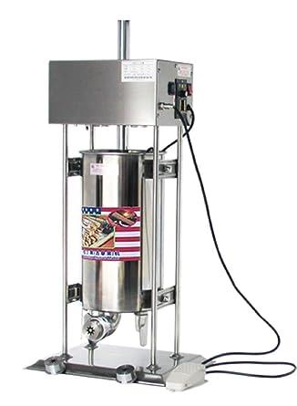 15L churro automática eléctrica de acero inoxidable churro eléctrica español Churros Panificadora 220 V – 240