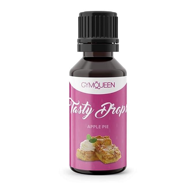 Flav Drops sin azúcar y calorías – Saborizante con sucralosa – Edulcorante aromatizado líquido – GymQueen