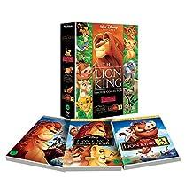 The Lion King Trilogy Box Set (Region code : 3) (Korea Edition)