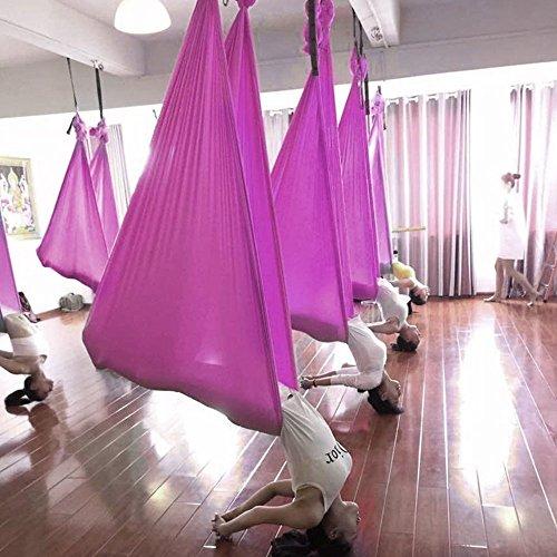 yaetek Aerial Yoga Swing - Ultra fuerte Antigravity yoga ...
