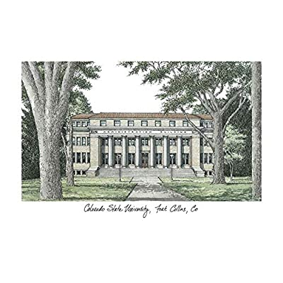 Campus Images Colorado State University Campus Images Lithograph Print