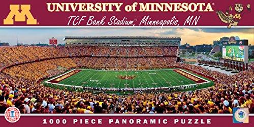 Masterpieces Collegiate Minnesota Golden Gophers 1000 Piece Stadium Panoramic Jigsaw Puzzle