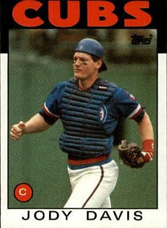 Amazoncom 1986 Topps Baseball Card 767 Jody Davis Mint