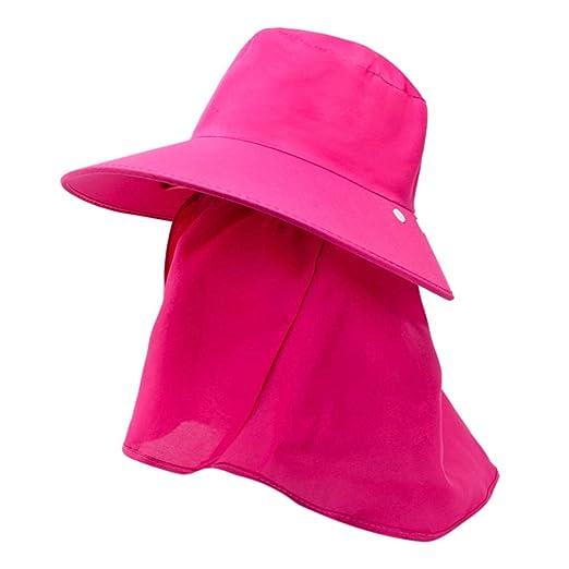 b19e85e97 Yucode Hiking Fishing Camp Hat Outdoor Sunscreen Protection Neck ...