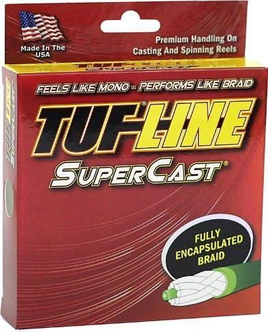 Tuf-Line SuperCast 100-Yard Braided Fishing Line