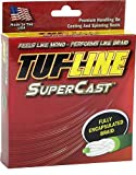 Tuf-Line SuperCast 300-Yard Braided Fishing Line, Green, 25-Pound