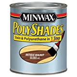 Minwax 440 Gloss Poly Shades Stain and Polyurethane, Antique Walnut, 1-Quart by Minwax