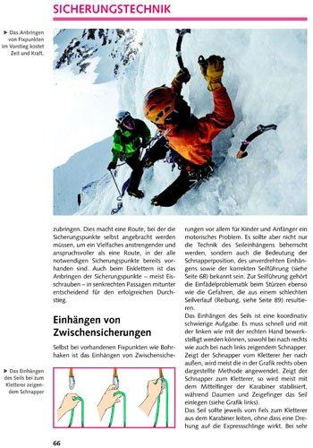 Klettern - Sicherung und Ausrüstung: Alpin-Lehrplan 2A
