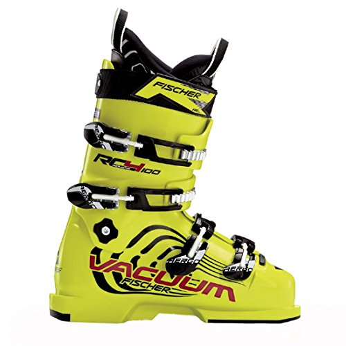 (Fischer RC4 100 Vacuum Jr. Race Ski Boots 24.5)