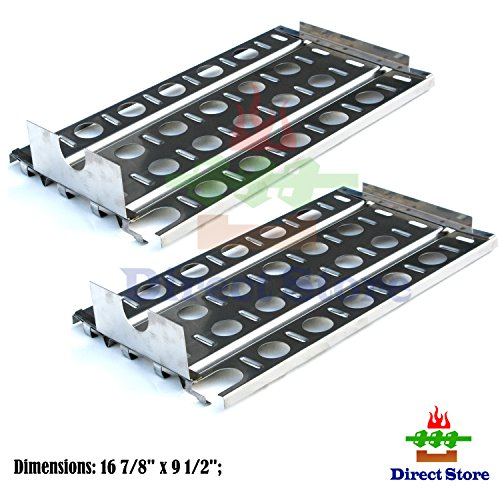 direct store parts dp114 2pack stainless steel heat plates replacement lynx gas grill models 2 - Lynx Grill