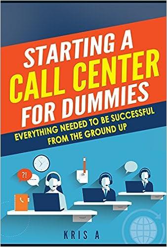 Call Center For Dummies Pdf