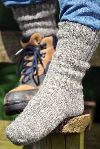 Calcetines de senderismo para hombres en Inglés LANA (paquete de tres pares)