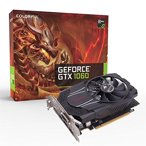 SMYTShop for GTX 1060 OC 6GB Gaming Computer Graphics Card GDDR5 192Bit PCI Express Game Video Card Graphics