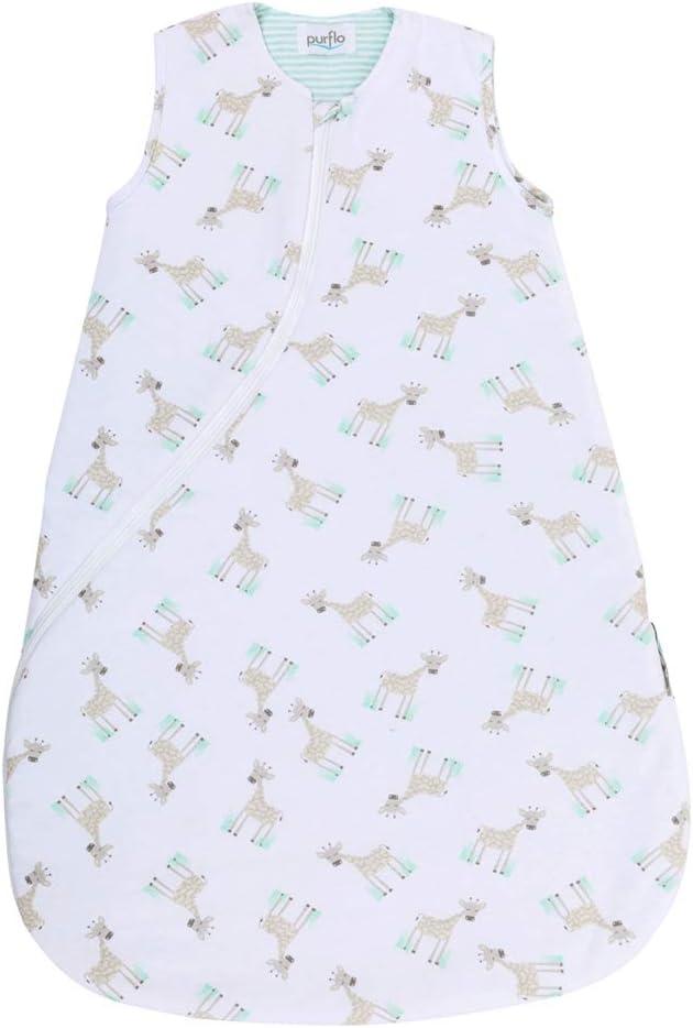 Purflo 0-6 meses, 2,5 tog, jirafa Saco de dormir para beb/é