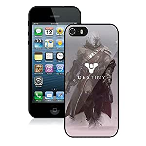 Newest iPhone 5 5S Case ,Destiny Warlock Black iPhone 5 5S Screen Case Unique And Durable Custom Designed Cover Case