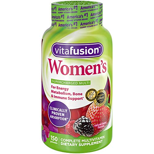 vitafusion Women's multivitamin provides a delicious, complete multivitamin specially formulated to support the health needs of women. Each delicious two-gummy serving combines essential vitamins and minerals with natural fruit flavors to provide: En...