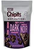 CHIPITS Baking Chocolate Chunks, Dark Chocolate, 250g