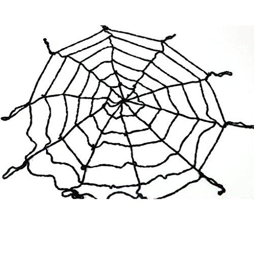 Binmer(TM) Halloween Spider Web CobWeb Net Home Bar Cosplay Party Decoration (Black)