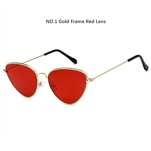 Yangjing-hl Gafas de Sol Retro Cat Eye para Mujer Gafas de ...