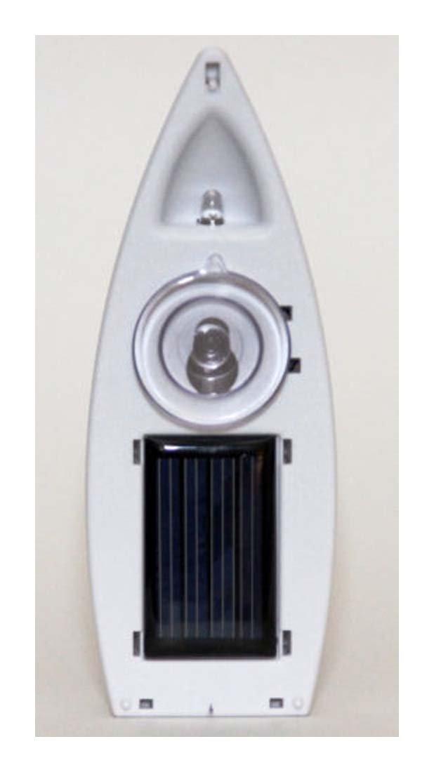 SOLAR WINDOW CANDLE - NEW ITEM! lights - uses 5mm LED