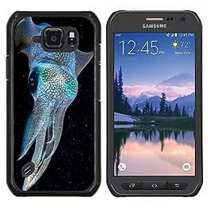 Stuss Case / Funda Carcasa protectora - Blue Diving électrique - Samsung Galaxy S6Active Active G890A