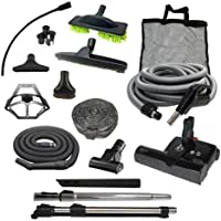 Sebo Diamond Central Vacuum Accessory Kit with ET-2 Powerhead (Direct Connect, 35)