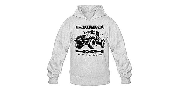 Hipster Vogue Off Road Fan Suzuki Samurai Men Samurai Hooded Sweatshirt Hoodies