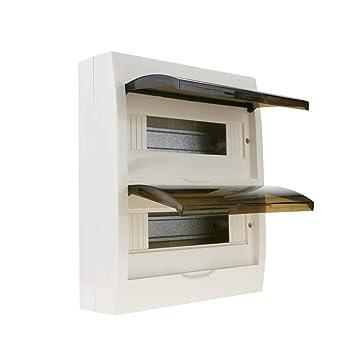 Cablematic - Caja de distribución eléctrica SPN 24M IP40 de Superficie de plástico ABS: Amazon.es: Electrónica