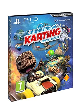Little Big Planet Karting Special Edition Uk Copy Amazoncouk