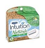 Schick Intuition Naturals Sensitive Care 100% Aloe w/ Vitamin E Cartridges by Schick
