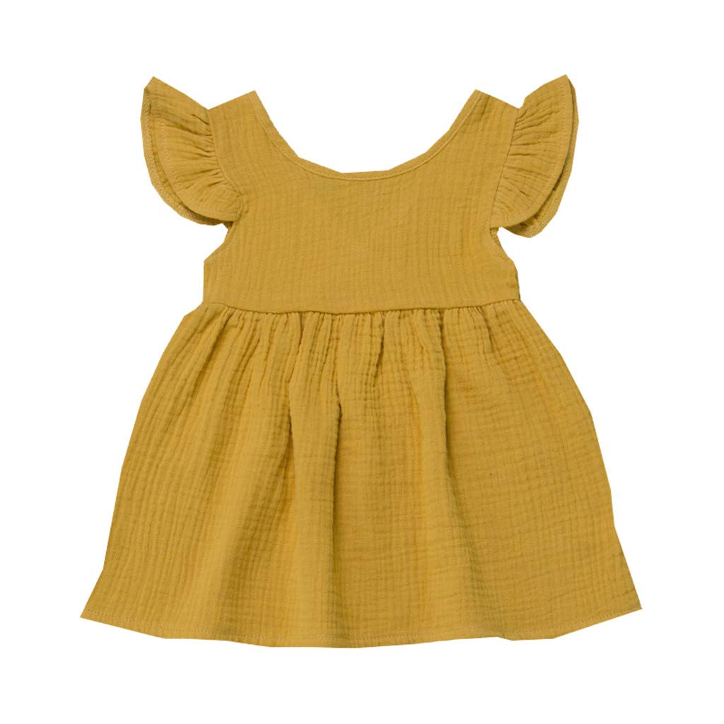 Princess Dress Up Set for Toddler Girls,Summer Toddler Baby Girl Sleeveless Cartoon Dinosaur Print Dress Dresses Clothes,Girls' Dance Apparel,Pink,2-4T