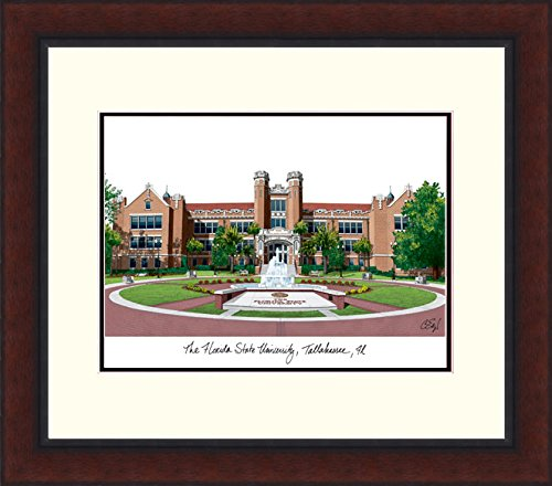 Campus Images ''Florida State University Legacy Alumnus Framed Lithographic Print