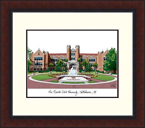 (Campus Images FL985LR Florida State University Legacy Alumnus Framed Lithographic Print)