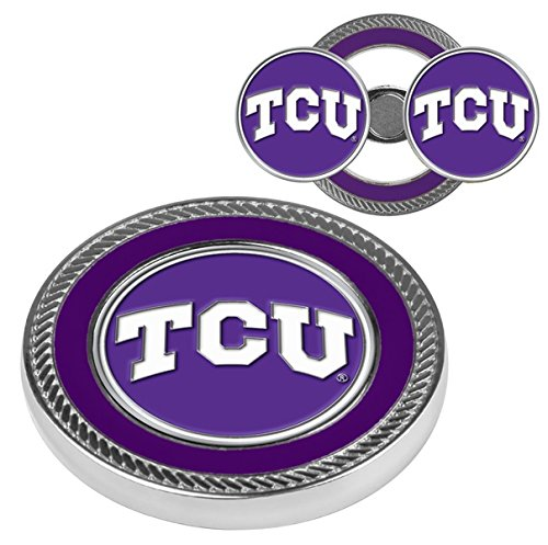 TCU Challenge Coin with 2 removable golf ball markers
