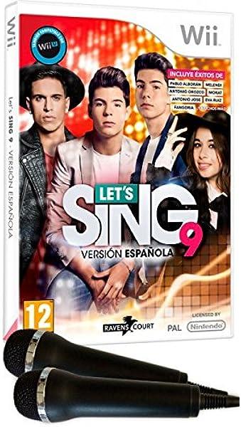 Lets Sing 9 - Versión Española + 2 Micrófonos : Amazon.es ...