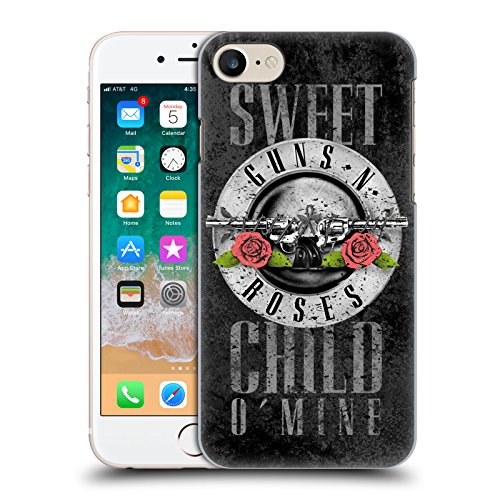 - Official Guns N' Roses Sweet Child O' Mine Vintage Hard Back Case for iPhone 7 / iPhone 8