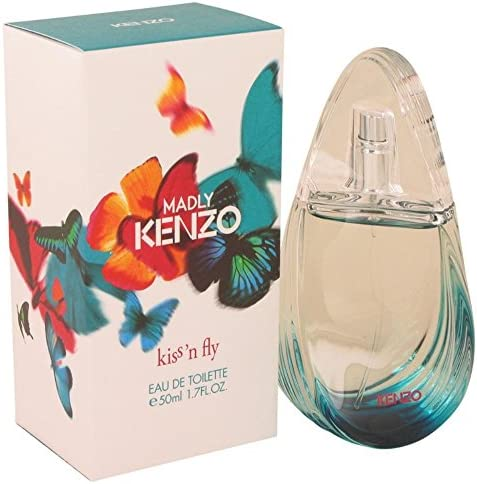 Madly Kenzo Kiss 'N Fly 50ml1.7oz Eau De Toilette Spray Women Perfume Fragrance
