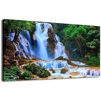 Amazon.com: Waterfall Wall Art Living Room Decorations