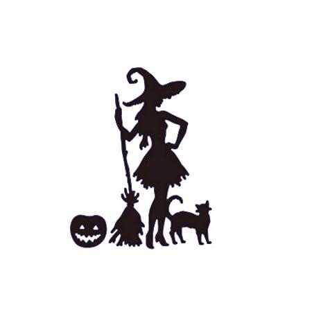 Amazon Com Yulong Pumpkin Witch Metal Cutting Dies For Halloween