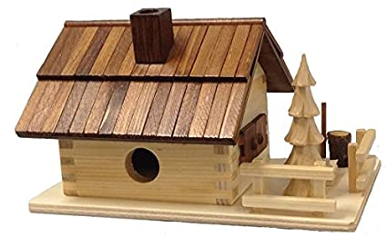 Pinnacle Peak Trading Company Forest House German Wood Christmas Incense Smoker Made In Germany Cabin