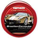 Mothers 05500-6 California Gold Brazilian Carnauba Cleaner Wax Paste - 12 oz, (Pack of 6)