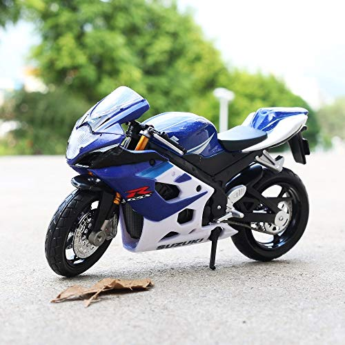 - Greensun 1:18 Scale Suzuki GSX-R1000 Motorbike Race Cars Mini Motorcycle Vehicle Models Office Toys Gifts for Kids