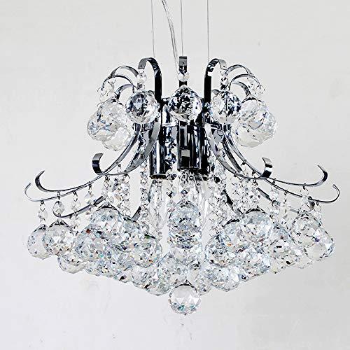 Windsor Home Deco WH-63402 Modern Crystal Hanging Pendant Chandeliers, Pendant Lights for Bedrooms Living Room Office, Pendant Lighting