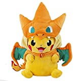 Just Model Pokemon Center Mega Tokyo Pikazard Pikachu Charizard Plush Toys Doll Y Orange, Free