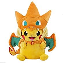 Just Model Pokemon Center Mega Tokyo Pikazard Pikachu Charizard Plush Toys Doll Y Orange, Free