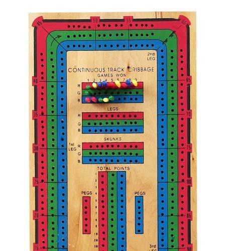 Bello Games Continuous Triple Track Cribbage Board