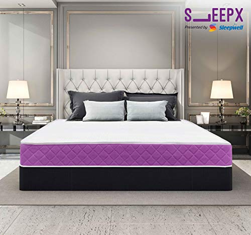 SleepX Presented by Sleepwell Ortho mattress - Memory foam (72*48*6 Inches)