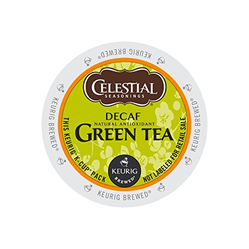 Celestial Seasonings DECAF Green Tea K-Cup 48 Count Case
